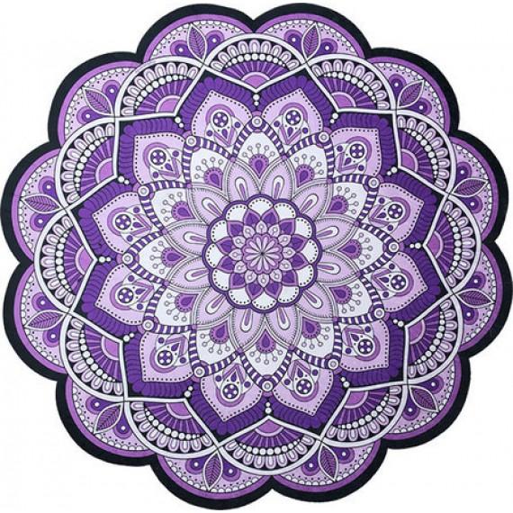 Tapete Mandala Floral Lilás e Roxo